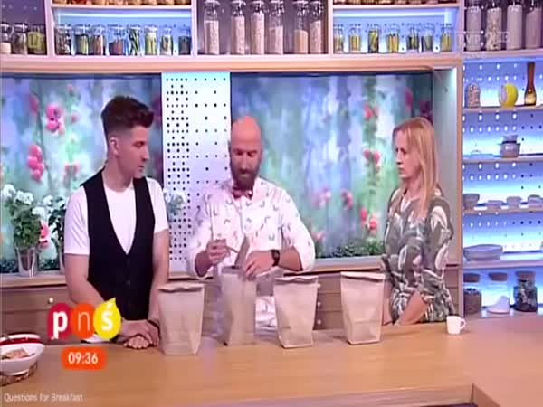 Polish Tv Host Gets Hand Stabbed By Nail As Magic Trick Goes Wrong