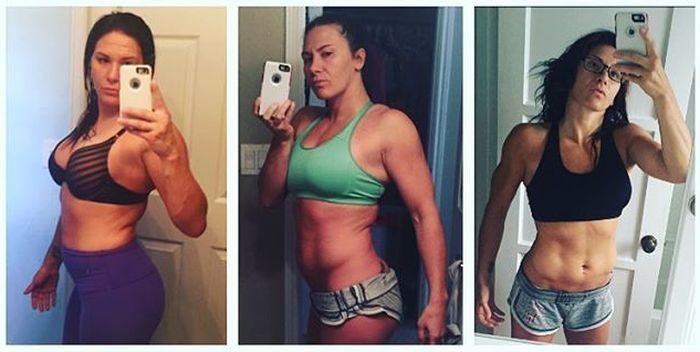 Cat Zingano Drops Weight Before Her Fight At UFC 200 (2 pics)