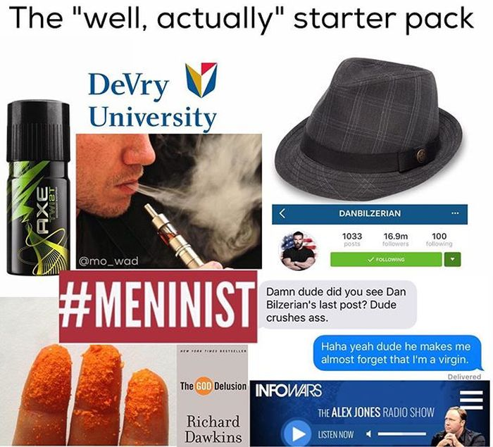 Starter Packs For People Who Love To Live Up To Stereotypes (21 pics)
