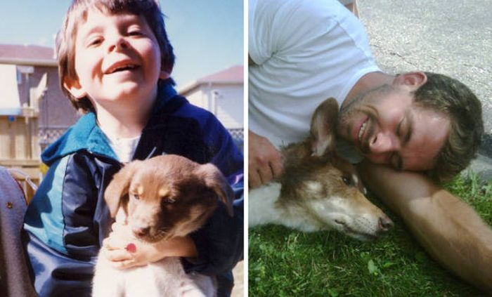 First And Last Pics Of Pets That Will Bring Tears To Your Eyes (35 pics)