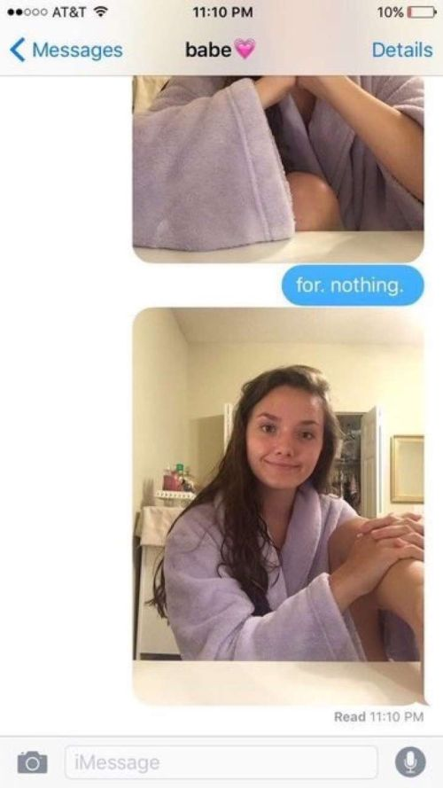 Woman Has Great Response When Boyfriend Cancels Late Night Plans (4 pics)