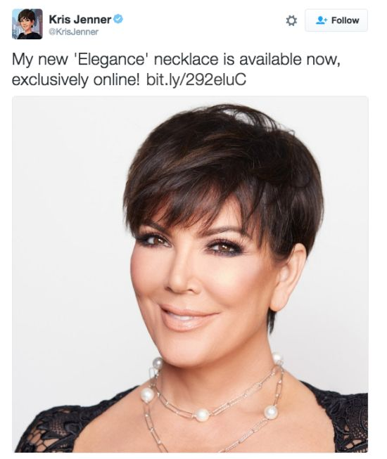 Twitter Users Destroy Kris Jenner's New Pearl Necklace (5 pics)