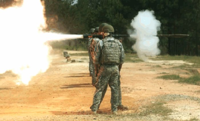 Awesome GIFs Of Deadly Weapons Firing In Slow Motion (16 gifs)