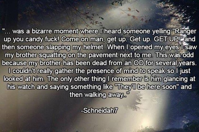 Stories About The Afterlife From People Who Have Died And Come Back (16 pics)