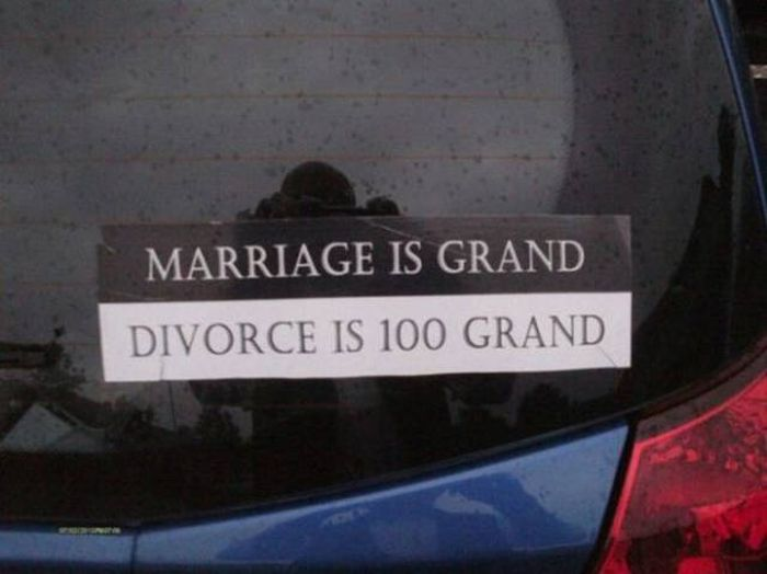 Funny Bumper Stickers Are One Of The Best Things About Road Trips (43 pics)