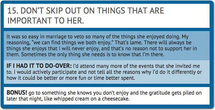 16 Ways To Make Sure You Don't Screw Up Your Marriage (16 pics)