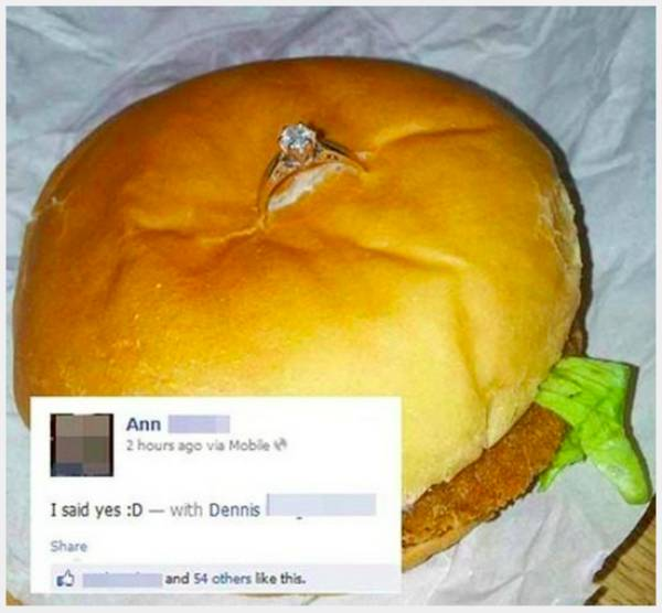 People Who Took White Trash Marriage Proposals To The Extreme (15 pics)