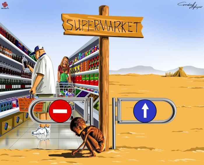 Today's Problems Captured In Satirical Illustrations By Gunduz Agayev (11 pics)