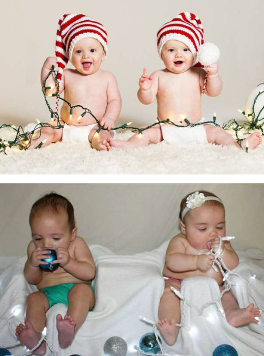 Why You Should Never Attempt To Recreate Pinterest Baby Photoshoots (33 pics)