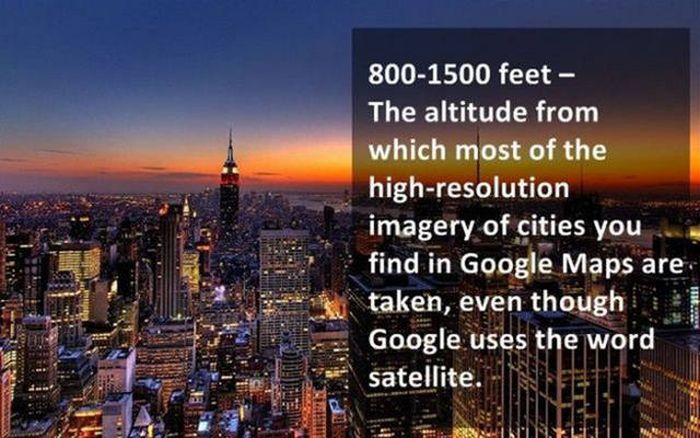 Interesting Facts That Every Google Maps User Needs To Know (25 pics)