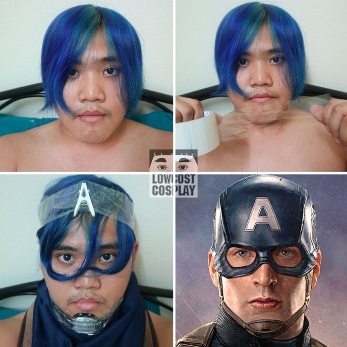 Low-Cost Cosplay Guy Returns With More Cheap Costumes (26 pics)