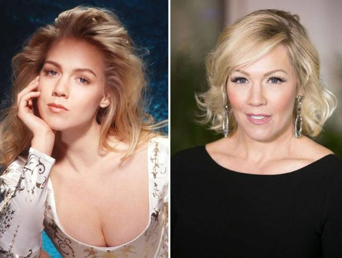 Your Favorite TV Stars Of The 90s Back In The Day And Today (97 pics)