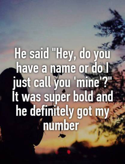 Unexpected Pick Up Lines That Helped People Score (20 pics)