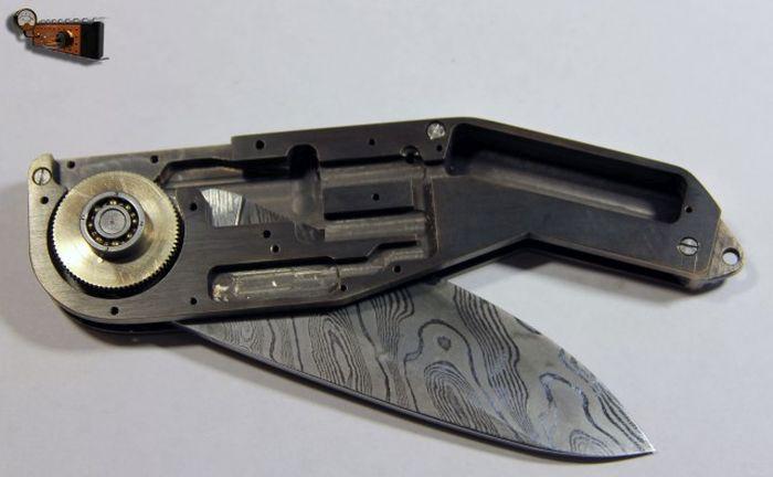 Cómo construir un cuchillo de Steampunk electronico desde ce