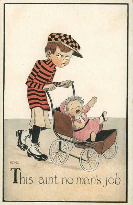 Vintage Postcards That Were Made To Discourage Women (20 pics)