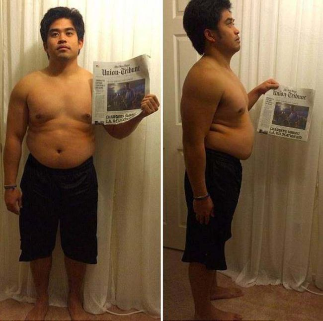 Social Worker Goes From Obese To Ripped In Just 12 Weeks (7 pics)
