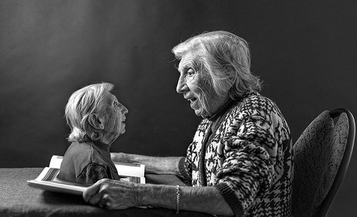 Son Puts His 90 Year Old Mother Front And Center In His Art Projects (11 pics)
