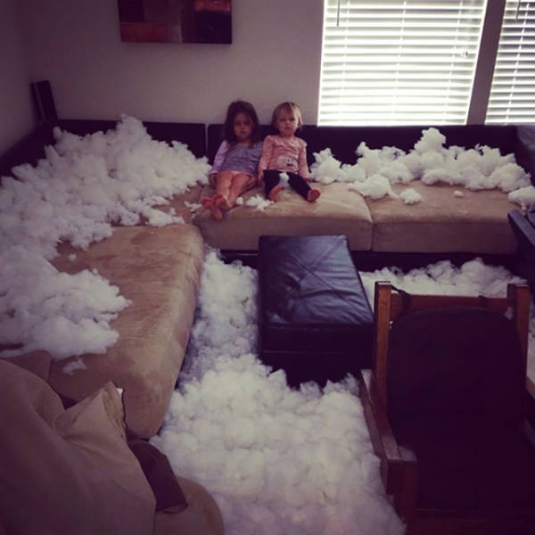 All Parents Know That Leaving Your Kids Alone Is A Very Bad Idea (35 pics)