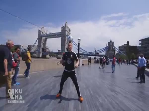 Football Freestyle In London