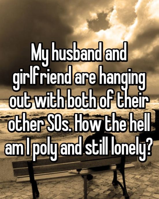 Polyamorous People Reveal The Struggles That Come With The Lifestyle (31 pics)