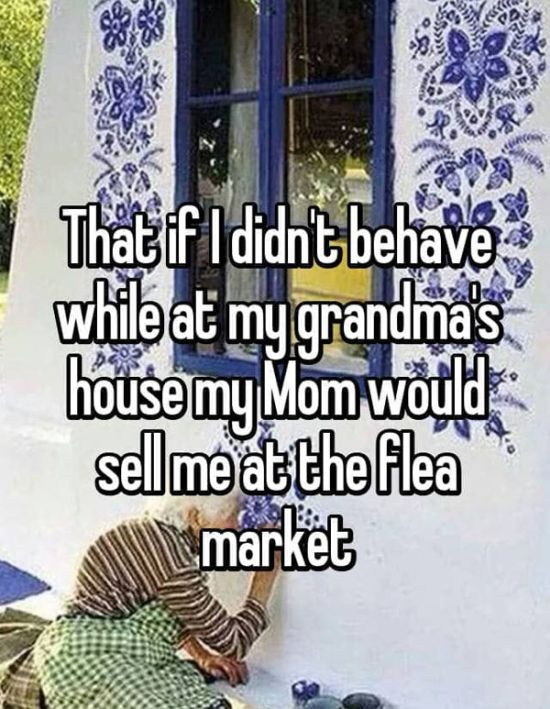 People Share Funny Lies Their Parents Told Them When They Were Kids (21 pics)