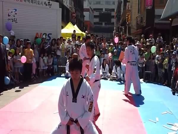 Karate Kick Fail