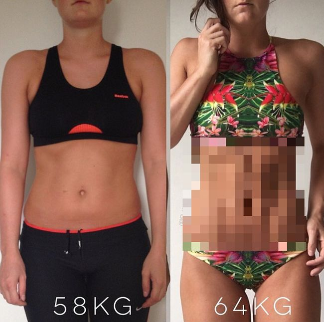 Fitness Trainer Proves Weight Is Just A Number With Before And After Photos (2 pics)