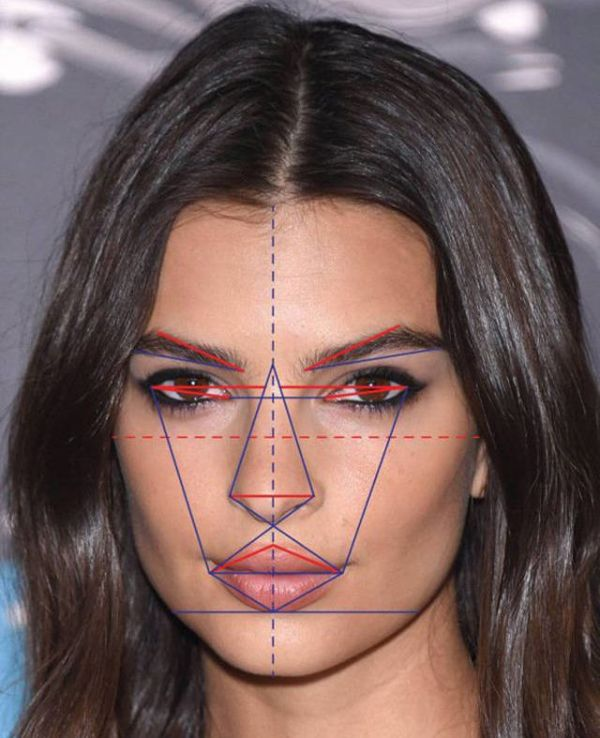 What The Most Beautiful Face  In The World Would Look Like According To Science (5 pics)