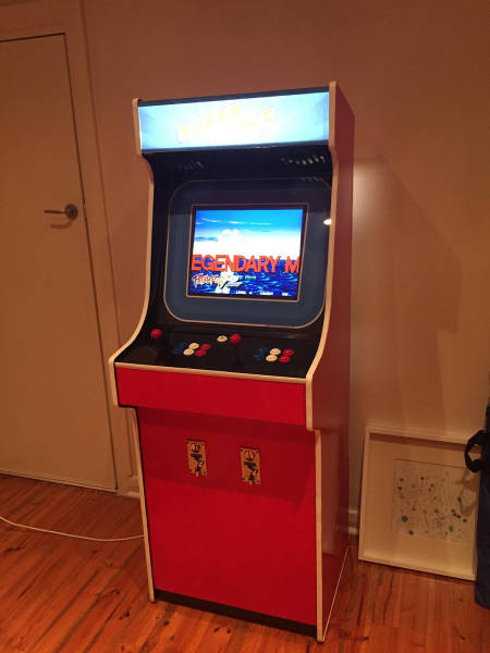 How To Build Your Own Arcade Game Cabinet (64 pics)