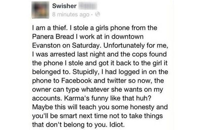 No Matter How Fast You Run You Can't Escape The Wrath Of Karma (37 pics)