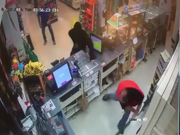 Armed Robbery Fails Because Of Daredevil Shopkeeper