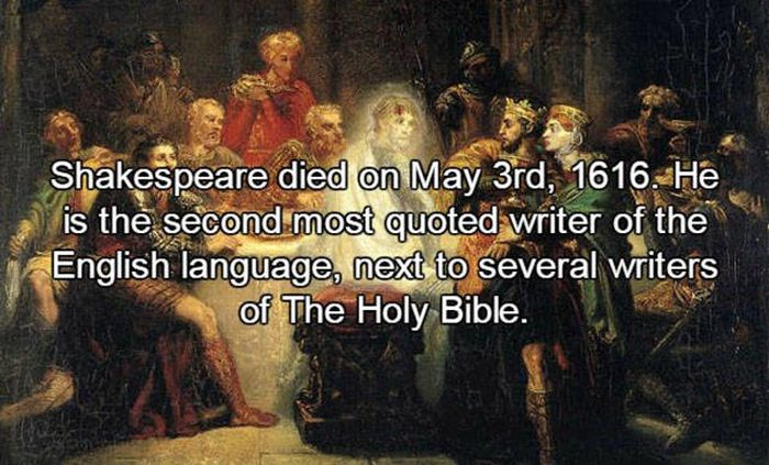 Interesting Facts You Need To Know About The One And Only William Shakespeare (22 pics)