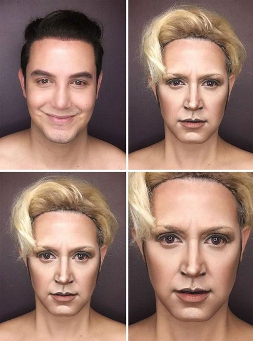"""Makeup Artist Himself Can Replace The Entire Female Part Of """"Game of Thrones"""" (7 pics)"""