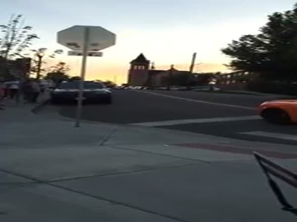 Car Gets Windshield Smashed By Kid On A Skateboard