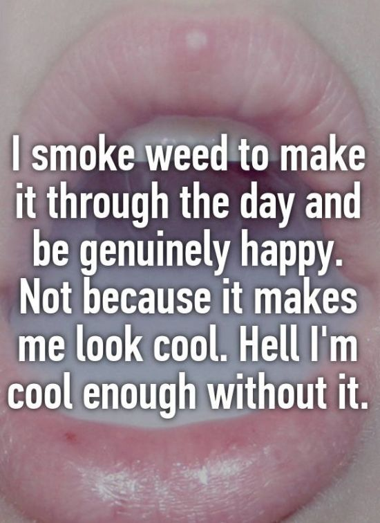 Weed Smokers Who Are Proud To Defy Stoner Stereotypes (18 pics)