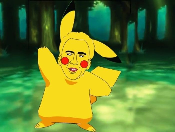 Nicolas Cage As A Pokemon Is Everything You Never Knew You Wanted To See (7 pics)