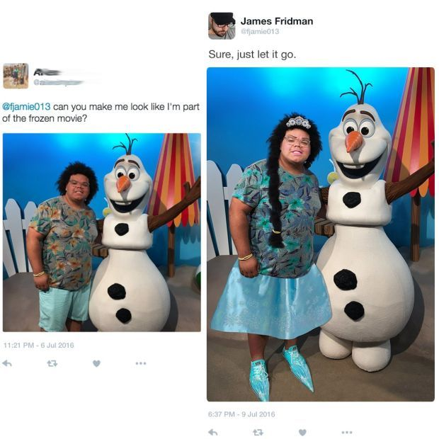 James Fridman Continues To Troll People Asking For Photoshop Help (8 pics)