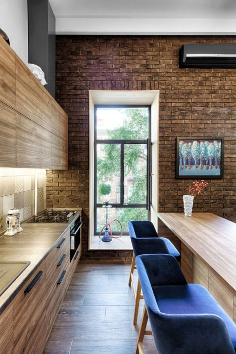 Designer Makes The Most Of A Small Flat In Ukraine (8 pics)