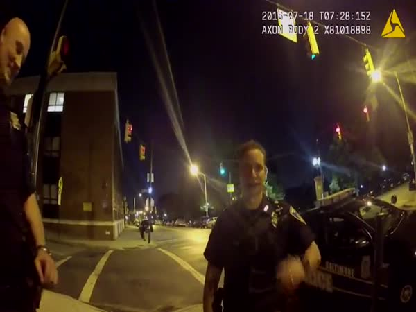 Bodycam Shows Pokemon Go Player Hits Cop Car
