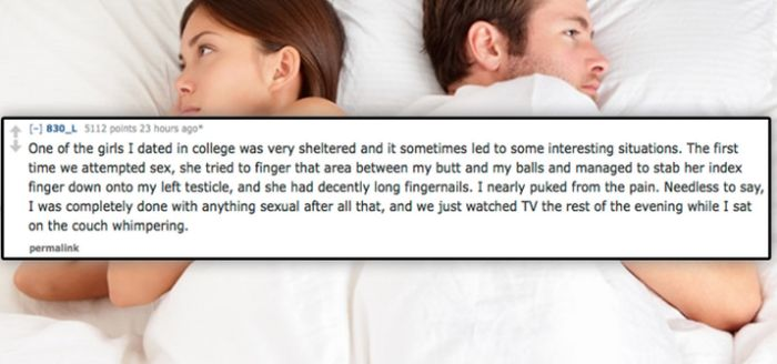 Stories About Bad Sexual Experiences That Will Make You Cringe (16 pics)
