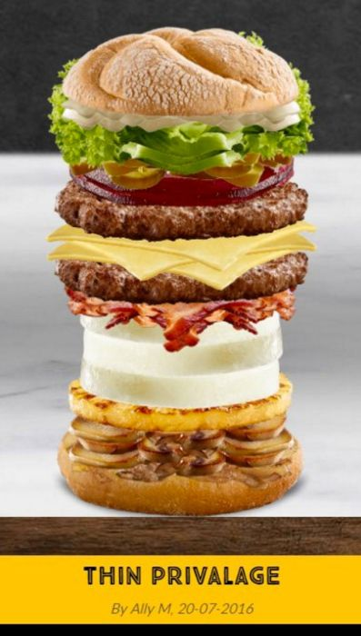 This Is What Happened When McDonald's Let The Internet Create Their Own Burgers (12 pics)