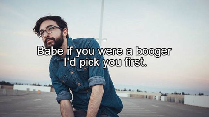 Pick up lines to get a date