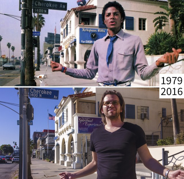 This Guy From Los Angeles Loves Taking Pictures In Famous Movie Locations (21 pics)