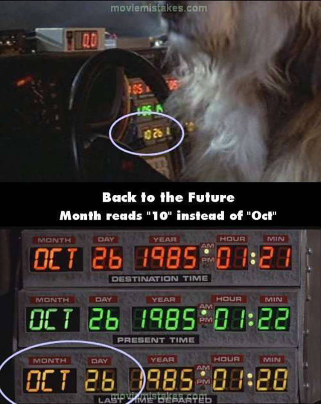 Big 80s Movie Mistakes You Definitely Missed The First Time Around (18 pics)
