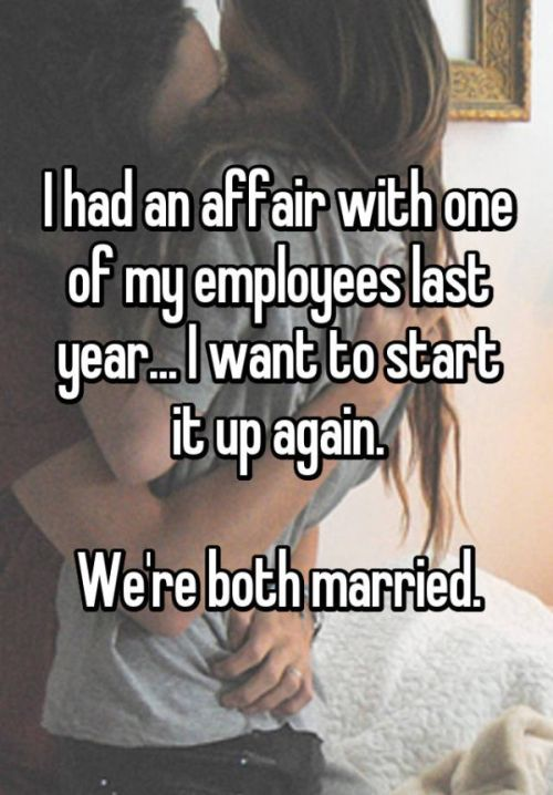 Bosses Confess To Hooking Up With Their Employees (18 pics)