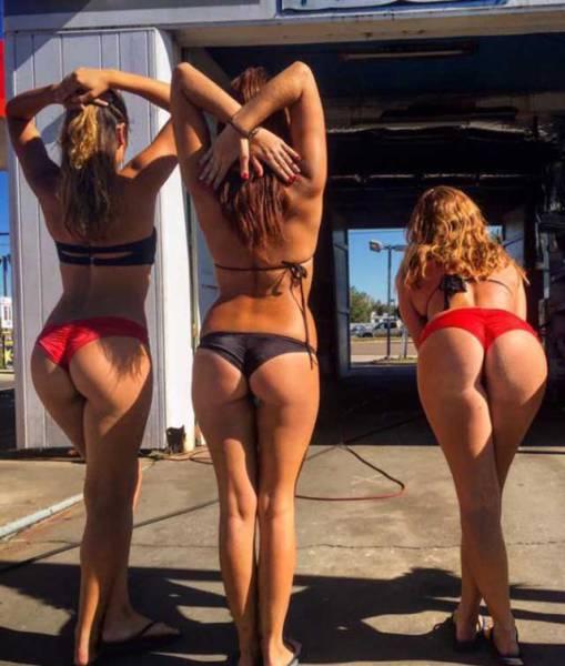 Say Hello To The Sexy Ladies Of Baywash Bikini Carwash (56 pics)