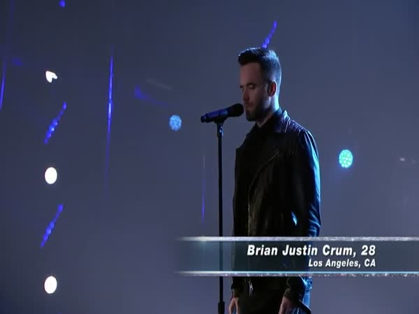 Brian Justin Crum's Cover of Radiohead's Creep On America's Got Talent 2016