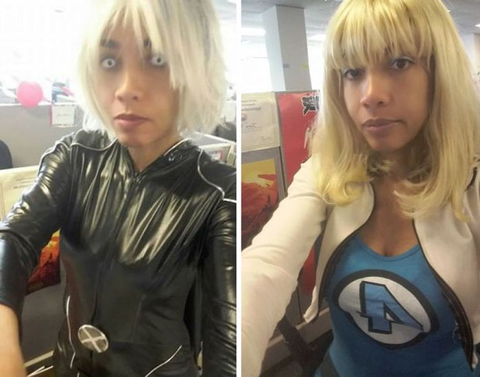 Woman Goes To Work In Cosplay After Boss Calls Her Clothes Unprofessional (8 pics)