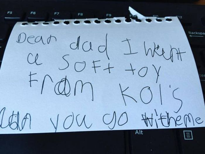 Honest Notes Written By Kids That Will Make You Giggle (28 pics)