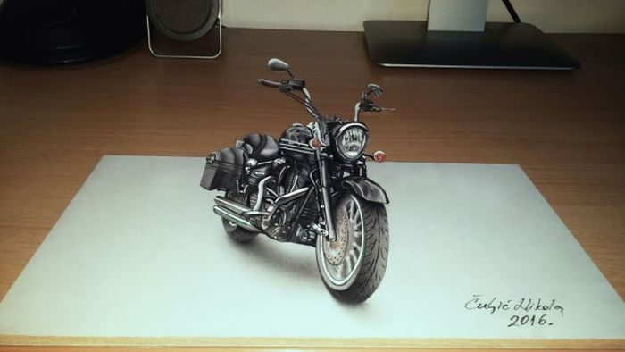 3D Drawings That Will Definitely Mess With Your Head (14 pics)